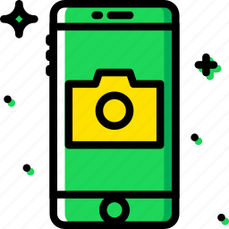 camera, communication, function, mobile icon