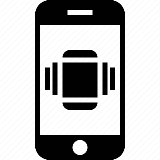 mobile, silence, silent, vibrate icon