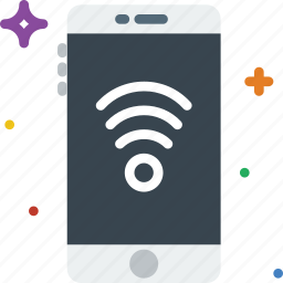 communication, fi, function, mobile, phone, wi icon