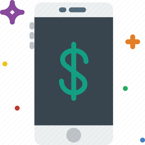 communication, data, financial, function, mobile icon