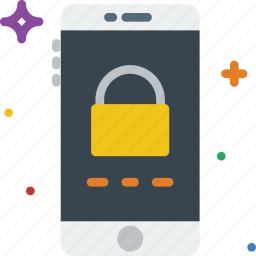 communication, function, lock, mobile, screen icon