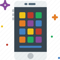 apps, communication, function, mobile icon