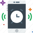 alarm, communication, function, mobile, ringing icon