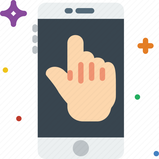 communication, function, mobile, touchpad icon