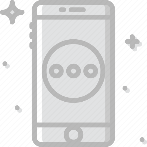 communication, function, mobile, more icon