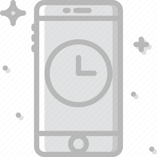 communication, for, function, mobile, phone, wait icon