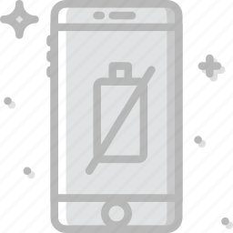 battery, communication, function, mobile, no icon