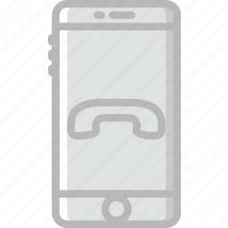 communication, function, hang, mobile, up icon