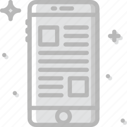 article, communication, function, mobile, web icon