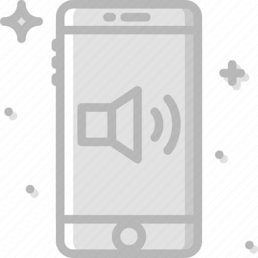 communication, function, high, mobile, volume icon