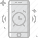 alarm, communication, function, mobile, ringing