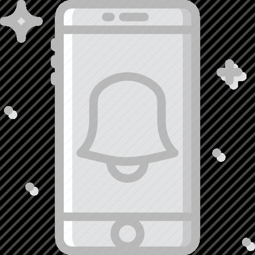 alarm, communication, function, mobile, ringing icon