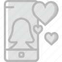 communication, function, message, mobile, phone icon