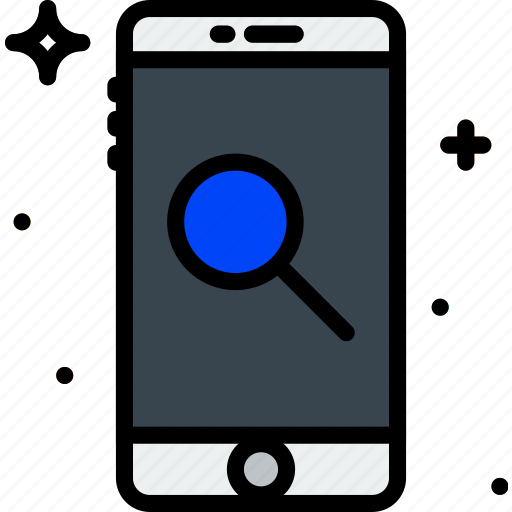 communication, function, mobile, phone, search icon