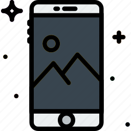 communication, function, mobile, picture icon