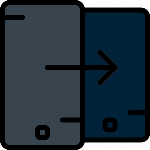 communication, function, mobile, phone, swipe icon