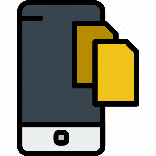 communication, file, function, mobile, phone, transfer icon