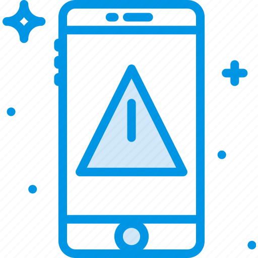 communication, function, mobile, phone, warning icon
