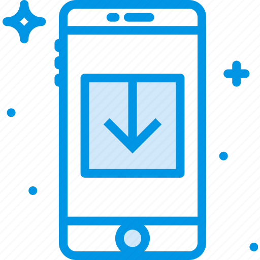 communication, download, function, mobile icon