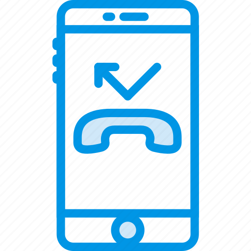 call, communication, function, mobile, reject icon