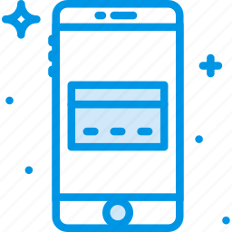 card, communication, credit, function, mobile icon