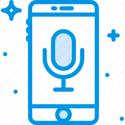 communication, control, function, mobile, voice icon