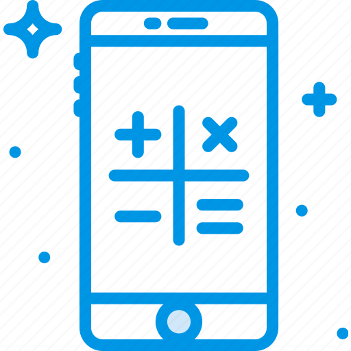 calculator, communication, function, mobile icon