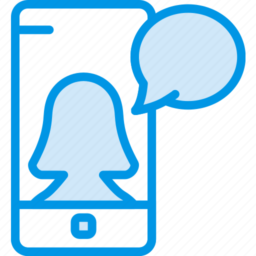 communication, function, mobile, profile, user icon