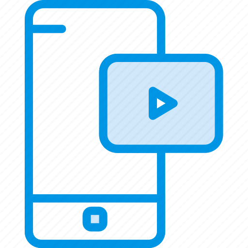 communication, function, mobile, phone, video icon