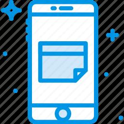 calendar, communication, function, mobile icon