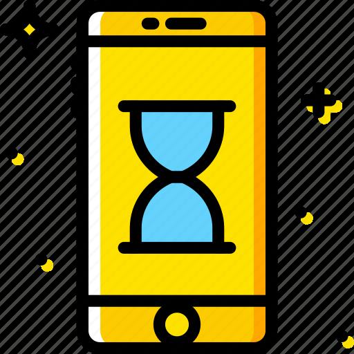 communication, function, loading, mobile, phone icon
