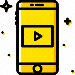 communication, function, mobile, video icon