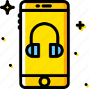 communication, function, headphone, mobile, mode icon