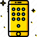 communication, dial, function, mobile, pad icon