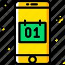 function, communication, calendar, mobile