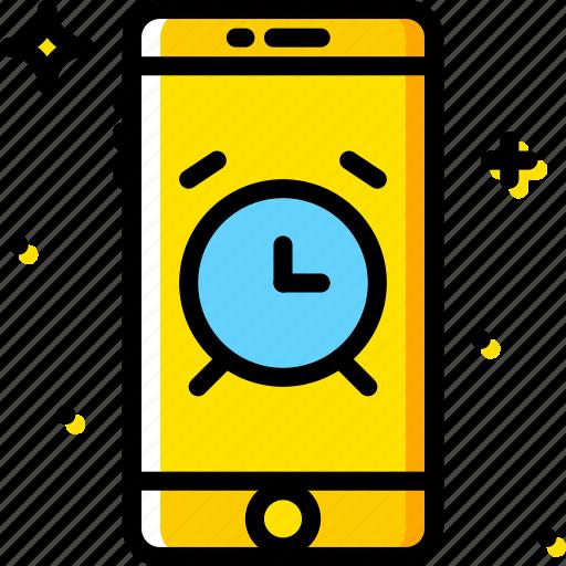alarm, communication, function, mobile icon