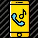 communication, function, mobile, phone, ringtone icon
