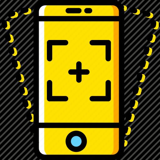 communication, function, mobile, phone, vibration icon