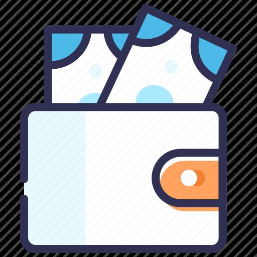 add money, cash, cash back, money, purse, wallet icon