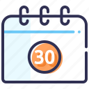 calendar, claim, date, event, month, schedule icon