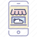 app, business, e-commerce, mobile, online, shop, store icon