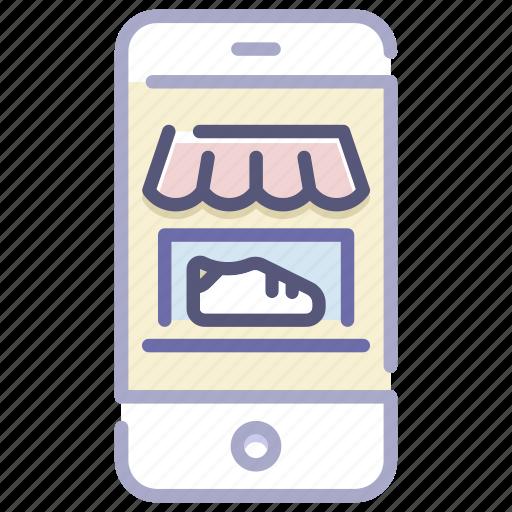 app, business, e-commerce, mobile, online, shop, store icon