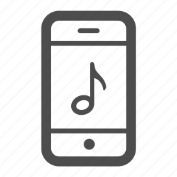 audio, iphone, mobile, music, phone, ring, sound icon