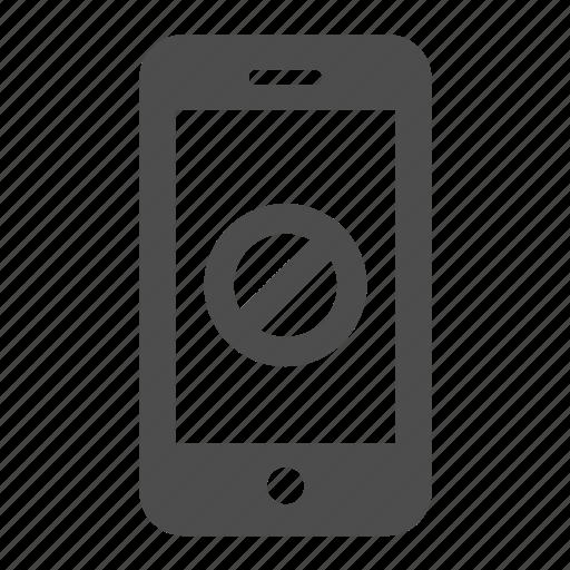 call, close, delete, mobile, off, phone, remove icon