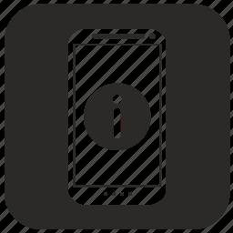 info, mobile, phone, smartphone icon