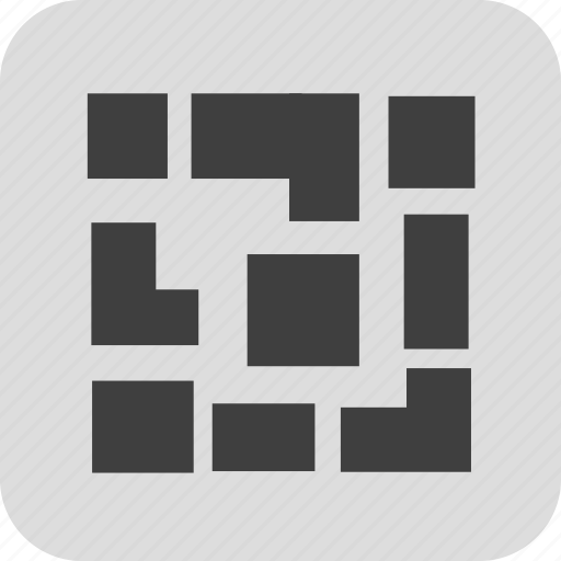 mobile, product, qr code, sn icon