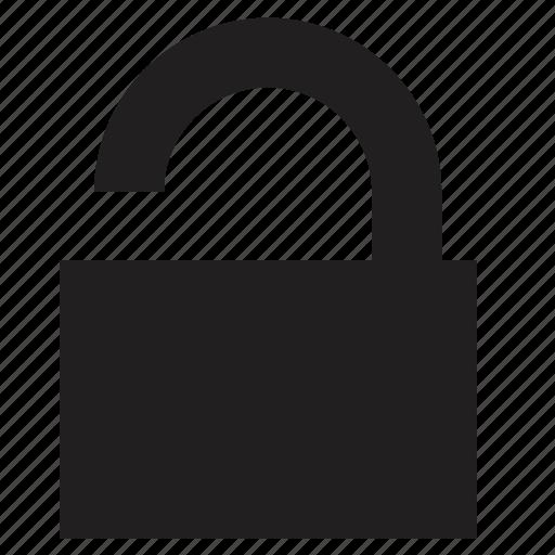 mobile, phone, unlock icon