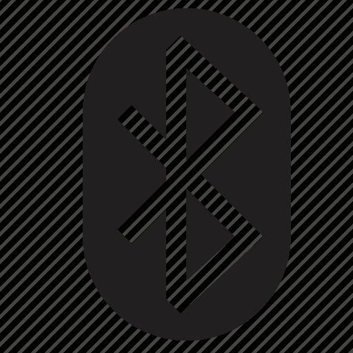 bluetooth, mobile, phone icon