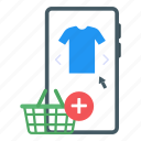 mobile store, mcommerce, discount clothing, eshopping, discount shopping icon