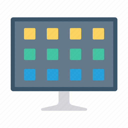 Device, display, lcd, monitor, screen icon - Download on Iconfinder